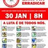 Atenção 1º Mutirão Regional de Combate a Dengue