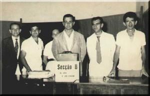 Secção B - Membros: Geraldo Furlan, Flavio Barbieri, Homero Nigro , Aroldo Furquim e Ítalo Della Rovere