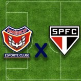 Américo Esporte Clube x São Paulo
