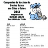 Campanha de Vacinação Contra a Raiva em Cães e Gatos