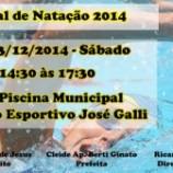 Convite – Festival de Natação