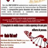 Américo Brasiliense participa de Campanha de Doação de Medula Óssea