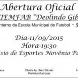 CONVITE- Abertura Oficial da 30ª edição do CIEMFAB – 2015