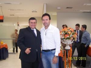 Vice- Prefeito Sérgio Belinelli prestigia inauguração de Agência do Itaú em Américo Brasiliense