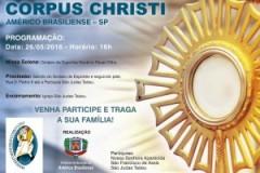Convite – Solenidade de Corpus Christi