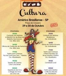 Américo Brasiliense recebe espetáculos gratuitos em  palco sobre rodas
