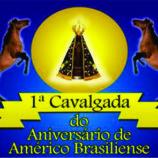 1ª Cavalgada do Aniversário de Américo Brasiliense