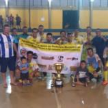 Américo Brasiliense é Campeão Invicto da III Copa Interior de Futsal