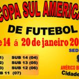 Américo Brasiliense Sediará 1ª Copa Sul Americana