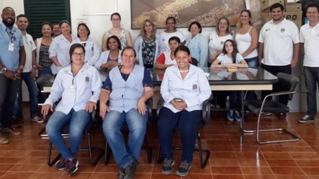 Departamento de Saúde de Américo Brasiliense Realização Ação Preventiva Contra a Febre Amarela no Clube Náutico
