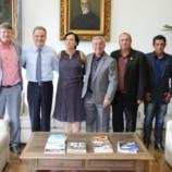 Secretário Samuel Moreira recebe Deputada Márcia Lia, Prefeito Dirceu Pano e Vereadores na Casa Civil