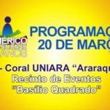 Coral da Uniara se Apresenta as Vésperas do Aniversário do 53º Aniversário de Emancipação Político-Adminsitrativa