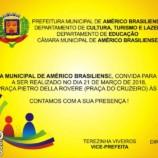 Prefeitura Municipal Realiza Ato Cívico em Comemoração ao 53º Aniversário de Emancipação Político-Administrativa