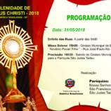 Américo Brasiliense terá Procissão de Corpus Christi
