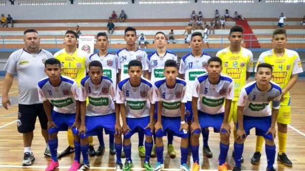 Futsal de Américo Brasiliense Sub 16 Brilha nas Finais do Estadual