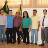 Deputado Estadual Marcos Zerbini Visita Américo Brasiliense