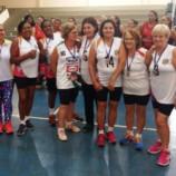 Vôlei Adaptado Feminino Categoria 60 anos é 3º Colocado na Temporada 2018 da APER