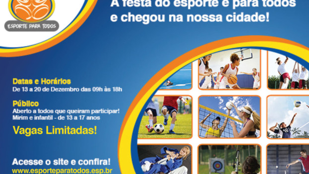 """Américo Brasiliense Recebe o Projeto """"Esporte Para Todos"""""""