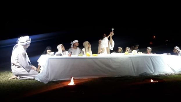 Américo Brasiliense Realizou a 3ª Encenação da Paixão de Cristo