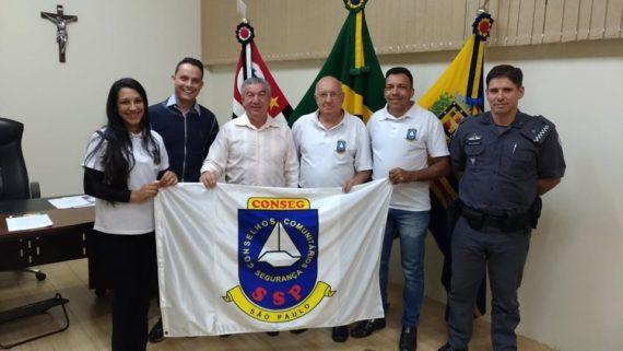 Prefeito Municipal recebe Conselho Comunitário de Segurança