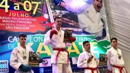 Karateca Ameriliense é Vice – Campeão em Etapa e vai a Final do Campeonato Brasileiro