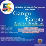 INSCRIÇÕES GAROTA E GAROTO AMÉRICO BRASILIENSE 2020