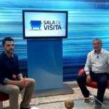 PREFEITO CONCEDE ENTREVISTA A RECORD TV